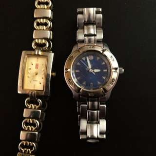 2x Woman's Watches