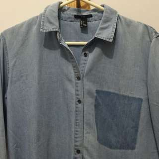 FOREVER 21 Jeans Shirt