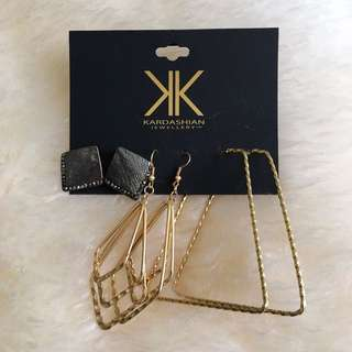 Kardashian Kollection Jewellery Earrings Set