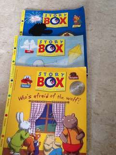Bayard story box children science book