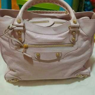 CLEARANCE! VISA, MASTER, AMEX CREDIT CARD ACCEPTED! Balenciaga Velo in Powder Pink GHW