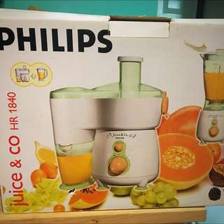Philips 2 In 1 Juicer & Blender