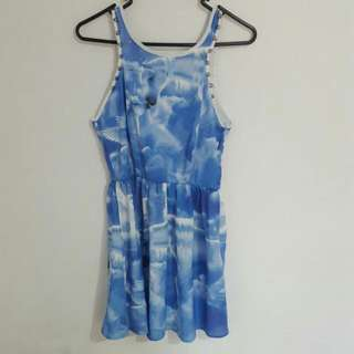 Reverse Blue Unicorn Dress