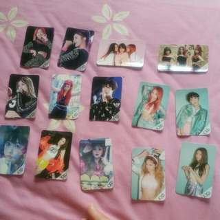 Exid Authentic Message Photocard From Korea