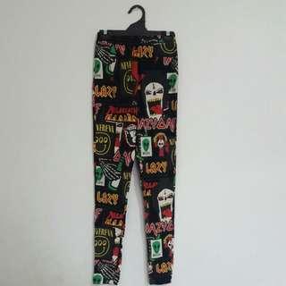 LAZY OAF Crazy Pattern Leggings