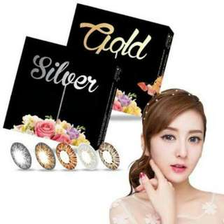 Softlens ICE Silver & Gold
