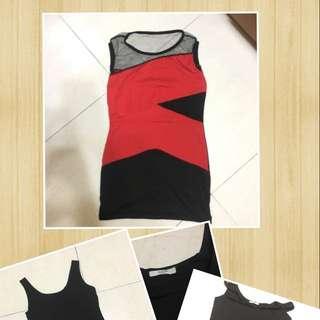 透膚洋裝+背心裙