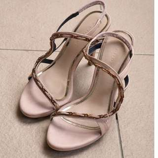 Eclipse cream colour heels