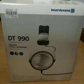 Beyerdynamic DT 990  and Kasso Amp