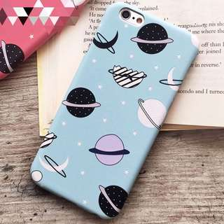 📢 Cute Space Galaxy iPhone Case