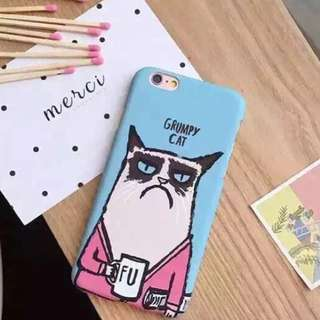 📢 Grumpy Cat iPhone Case