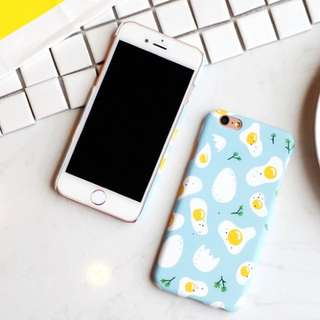 📢 Egg Yolk Cute iPhone Case