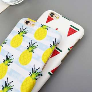 📢 Pineapple Watermelon iPhone Case