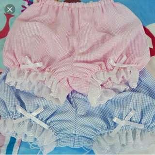 🚚 粉色安全褲