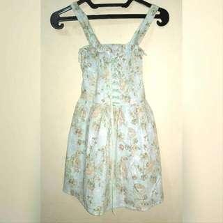 MINI DRESS FLOWER