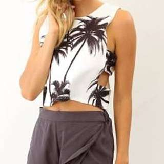 Sabo Skirt Palm Tree Crop Size S