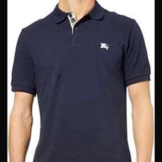 Burberry Brit Polo (size S) Navy Blue
