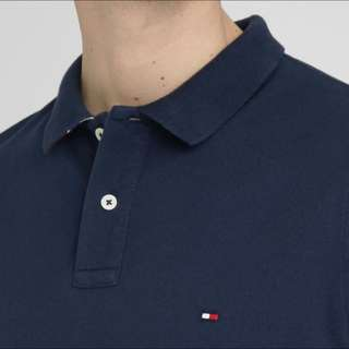 Tommy Hilfiger Navy Blue polo (size S)