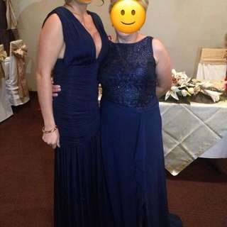 Navy Bariano Dress (left One)