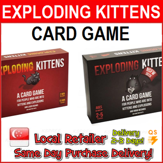 Exploding Kittens Red / Black Version