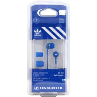 GREAT BASS: SENNHEISER CX310 by Adidas Originals High Quality Noise-Isolating Ear-Canal Headphones with Bass Driven Sound Brand New in Box