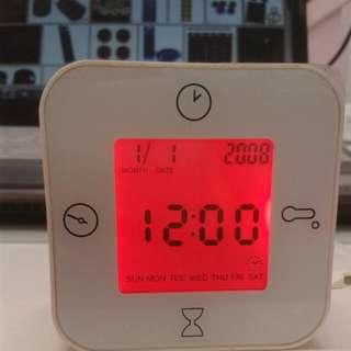 IKEA KLOCKIS Clock Thermometer Alarm Timer