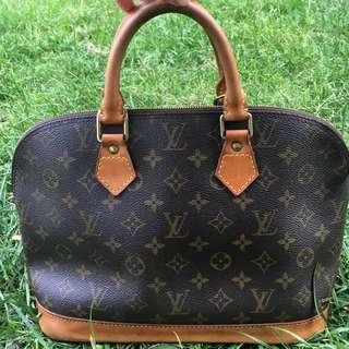 Authentic Louis Vuitton Monogram Alma Bag