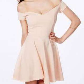 Misguided Off Shoulder Dress