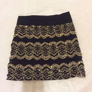 全新 裙 半截裙 蕾絲 lace