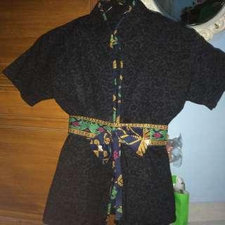 1 Set Batik Hitam & Rok