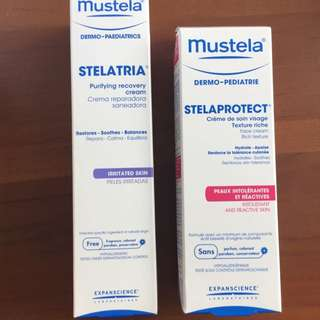 Mustela Purifying recovery Cream And Face Cream
