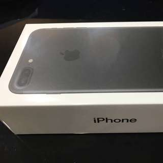 Iphone7+plus 消光黑128g