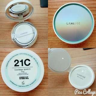 蘭芝 零毛孔無暇氣墊粉霜(粉蕊)21C