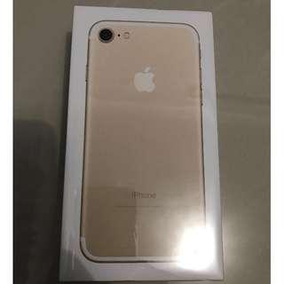 iPhone 7 HARGA DIJAMIN TERMURAH New 32 GB Gold Segel