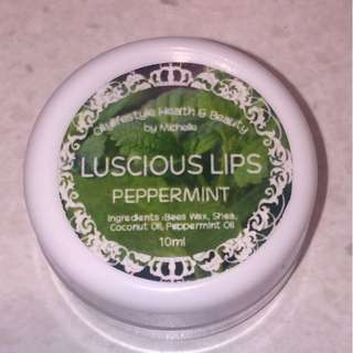 Luscious Lips Lip Balms Peppermint 10mL Young Living Essential Oils Oilylifestyle