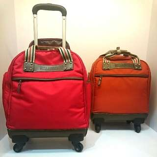POLO布面拉桿行李箱