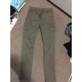 Khaki Green Pants/jeans