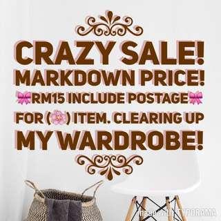MARKDOWN PRICE!