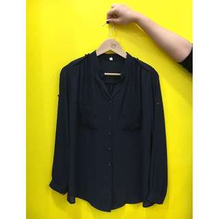Chiffon work blouse