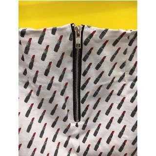 Motel Rocks print skirt