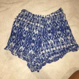 Festival Style High Waist Shorts