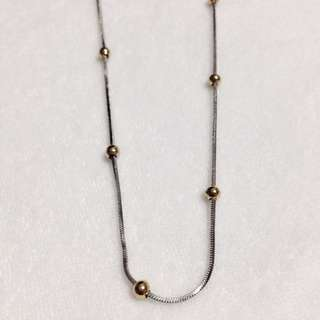 Two-tone Chain Stainless Steel Necklace