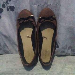 Parisian Brown Doll Shoes
