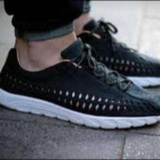 近全新二手正品Nike Mayfly Woven黑編織