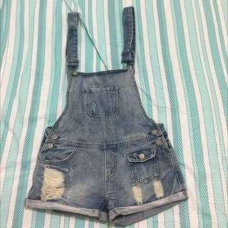 Jeans Jumpsuit / Jumpsuit / Celana Kodok