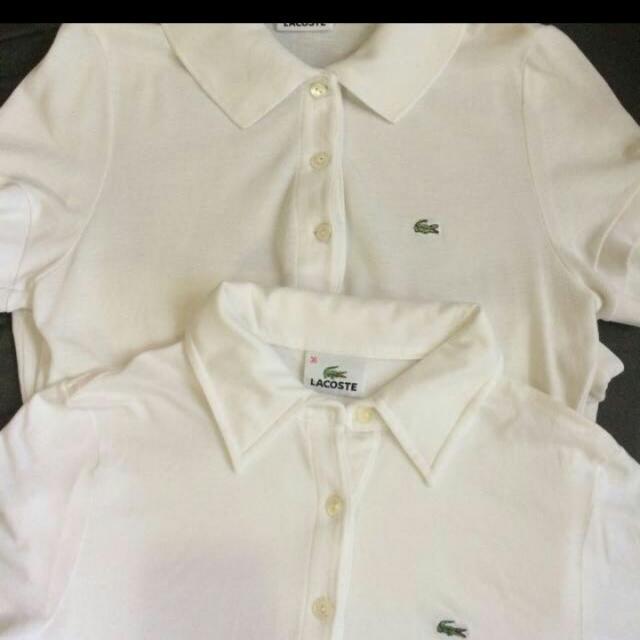 2 Original  White Lacoste Shirt