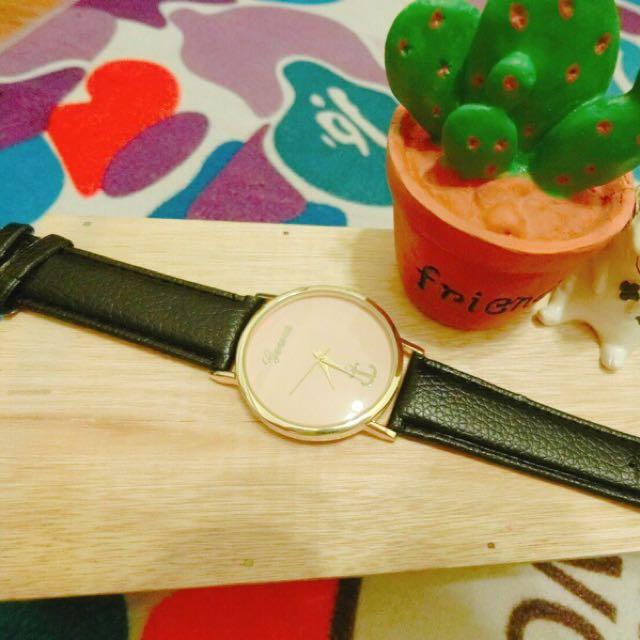 🍭現貨實拍🍭韓版船錨氣質女錶