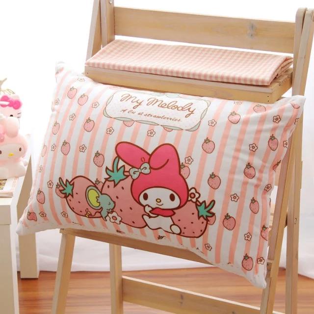結束營業 美樂蒂絨毛舒適保暖枕頭套 特價$299