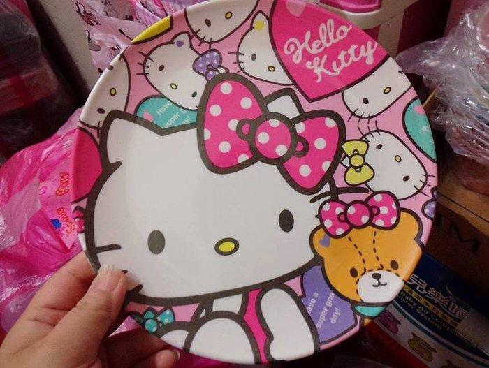 出清現貨 Hello kitty 美樂蒂 雙子星 水果盤 點心盤 盤子  特價$110