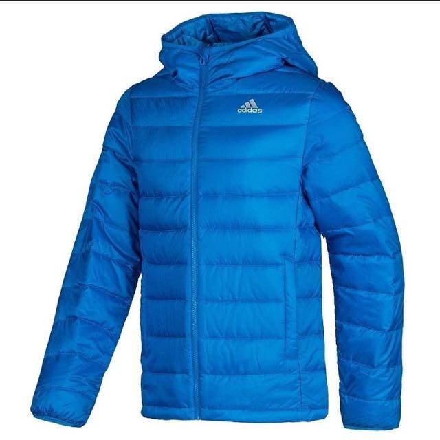 wholesale dealer e19e7 f0149 Adidas Climacool D90 Winter Down Jacket In Cobalt Blue ...
